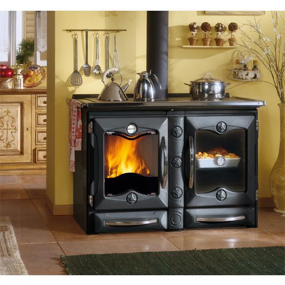 La nordica extraflame stufe termocamini e caminetti - Cucina a legna nordica milly ...