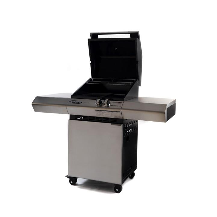 Barbecue a gas professionale Dolcevita Turbo elite 2 Fuochi