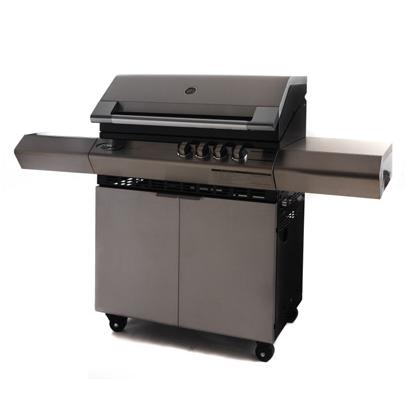 Barbecue a gas professionale Dolcevita Turbo elite 4 Fuochi