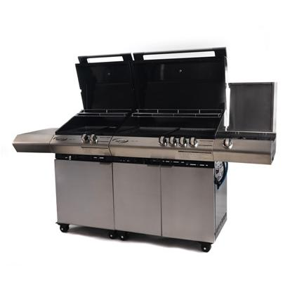 Barbecue a gas professionale Dolcevita Turbo elite 6 Fuochi
