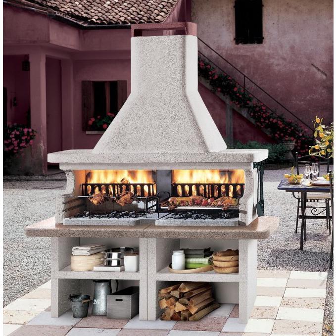 Barbecue a legna Palazzetti Miami 3