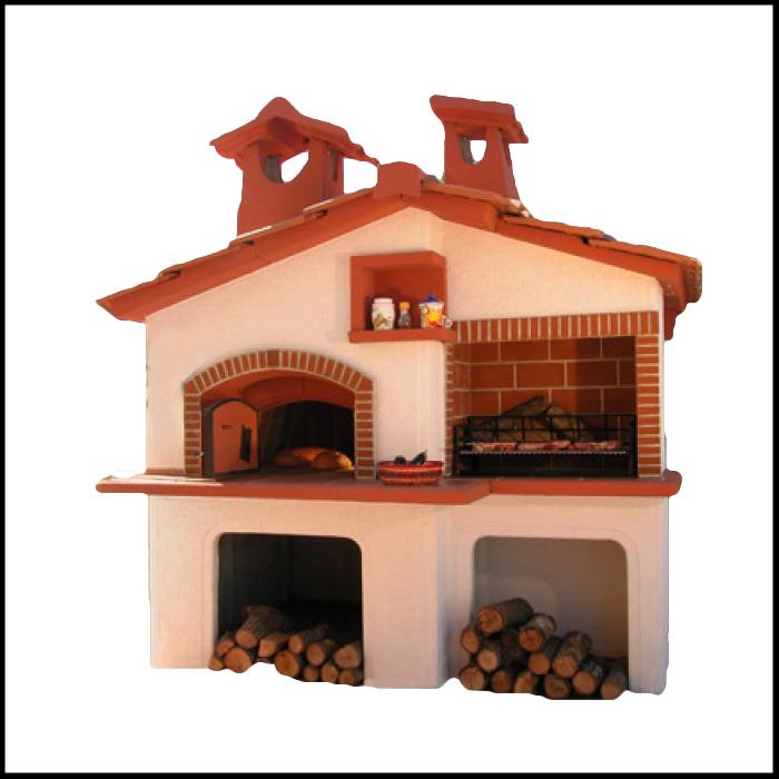 Barbecue con forno a legna napoli - Barbecue in casa ...