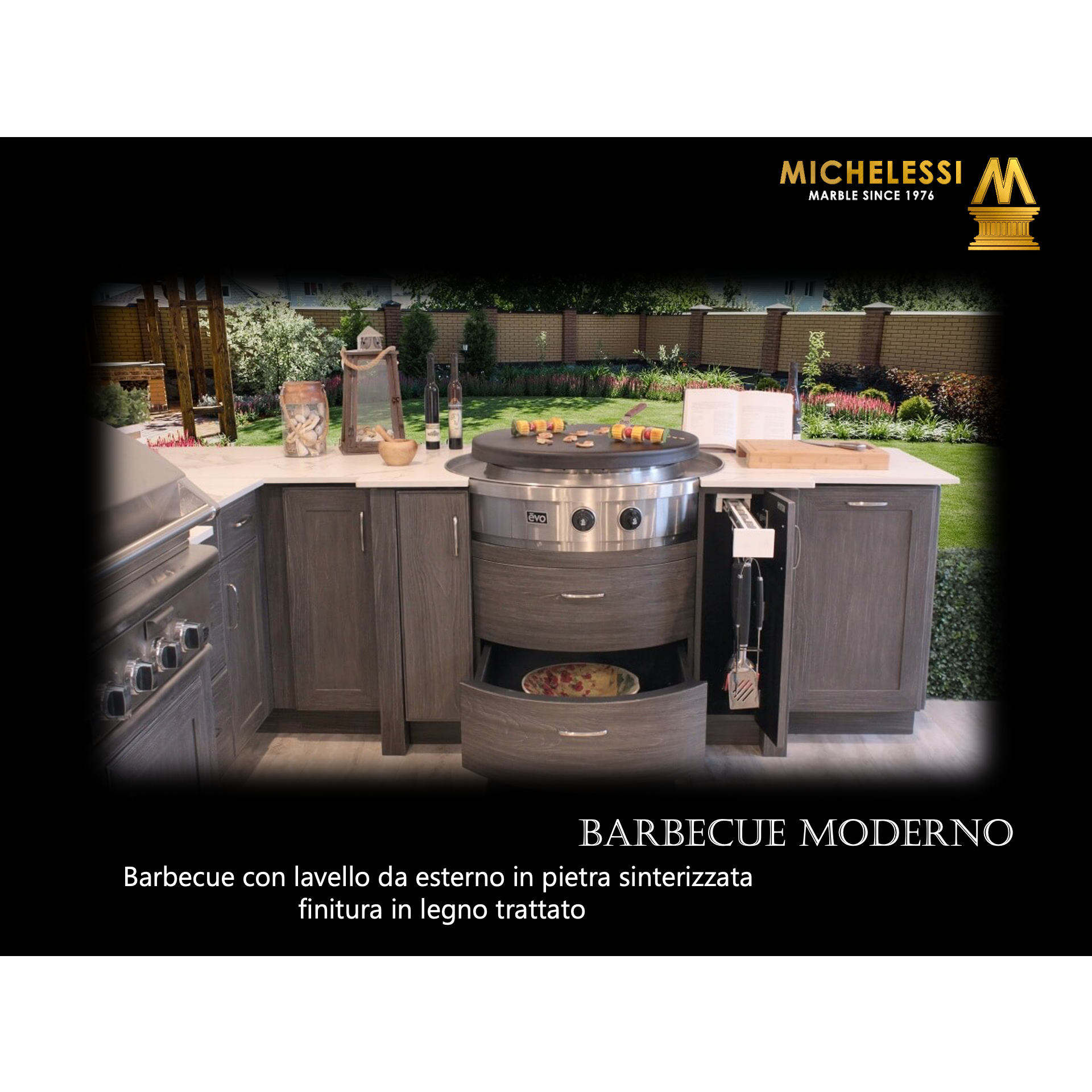 BARBECUE MODERNO