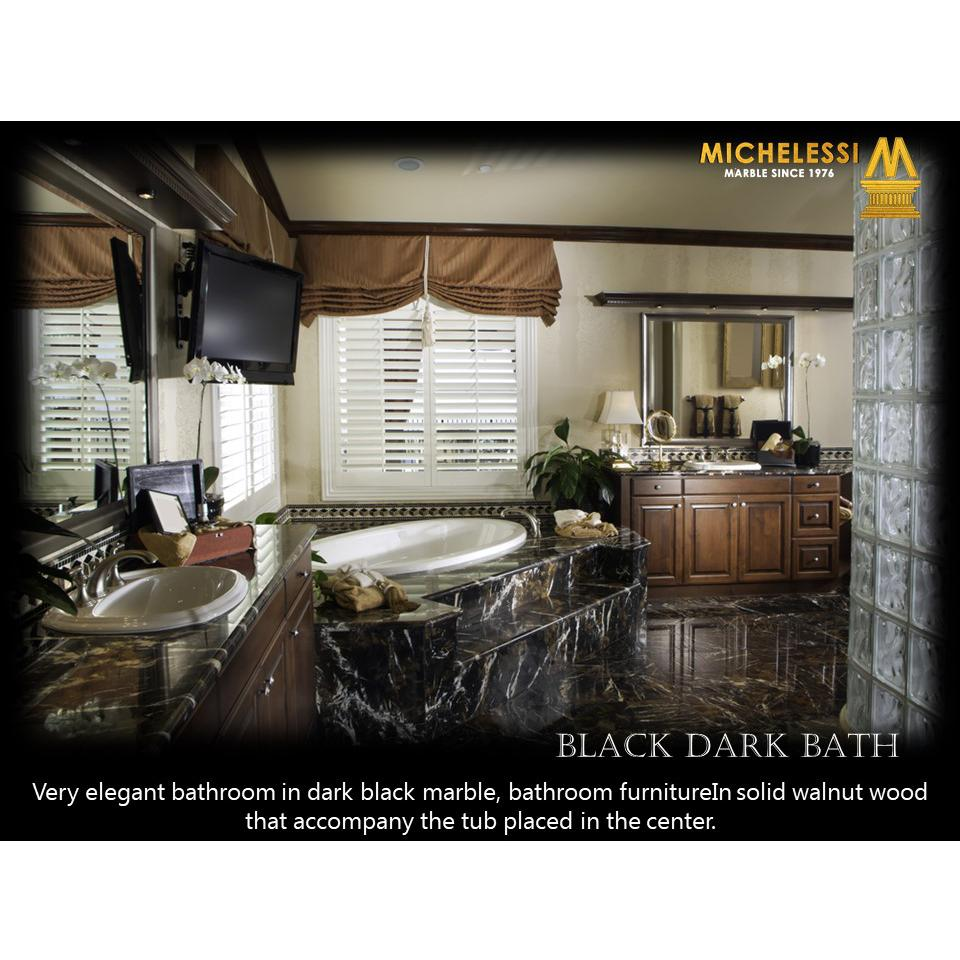 BLACK DARK BATH