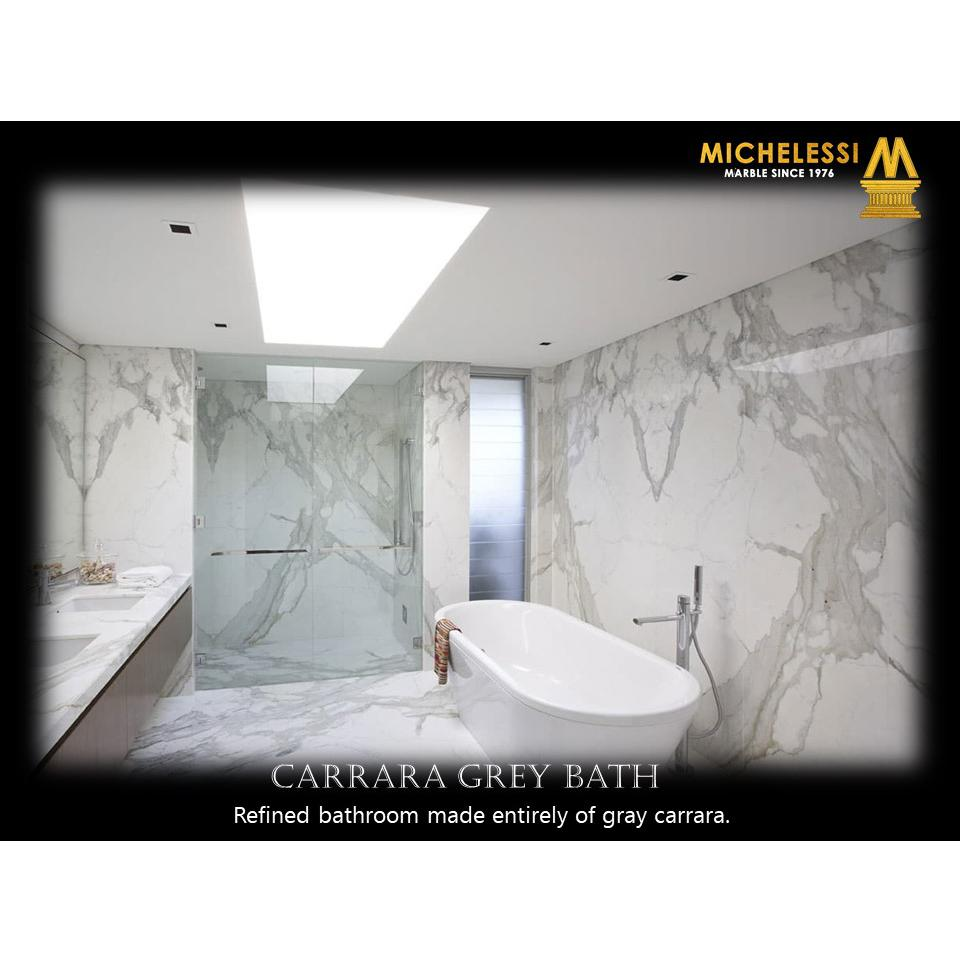 CARRARA GREY BATH