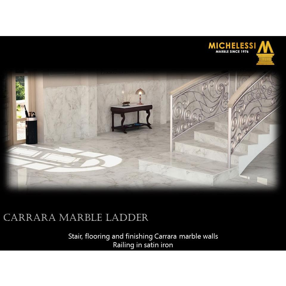 CARRARA MARBLE LADDER