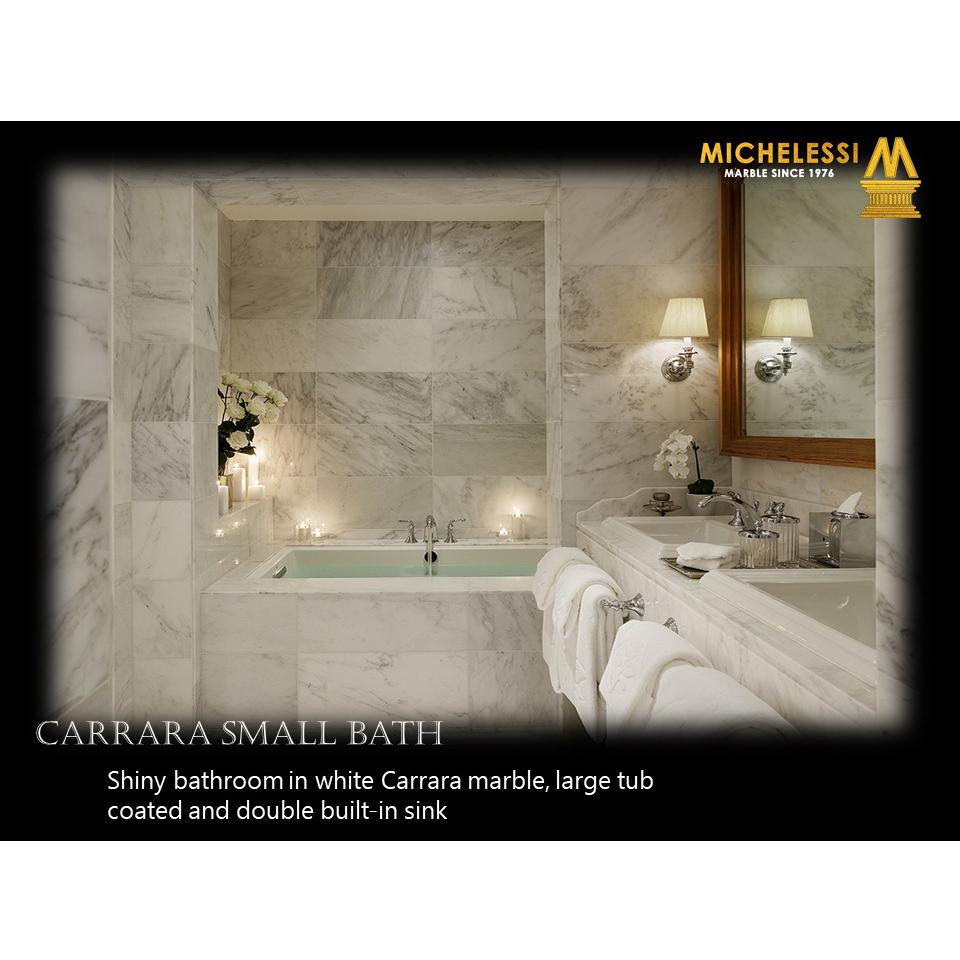 CARRARA SMALL BATH