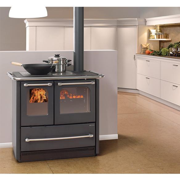 Cucina a legna la nordica sovrana easy - Termostufe a legna nordica ...