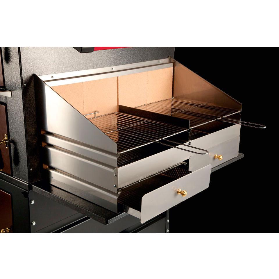 Forno A Legna Acciaio Gemignani G70 Barbecue