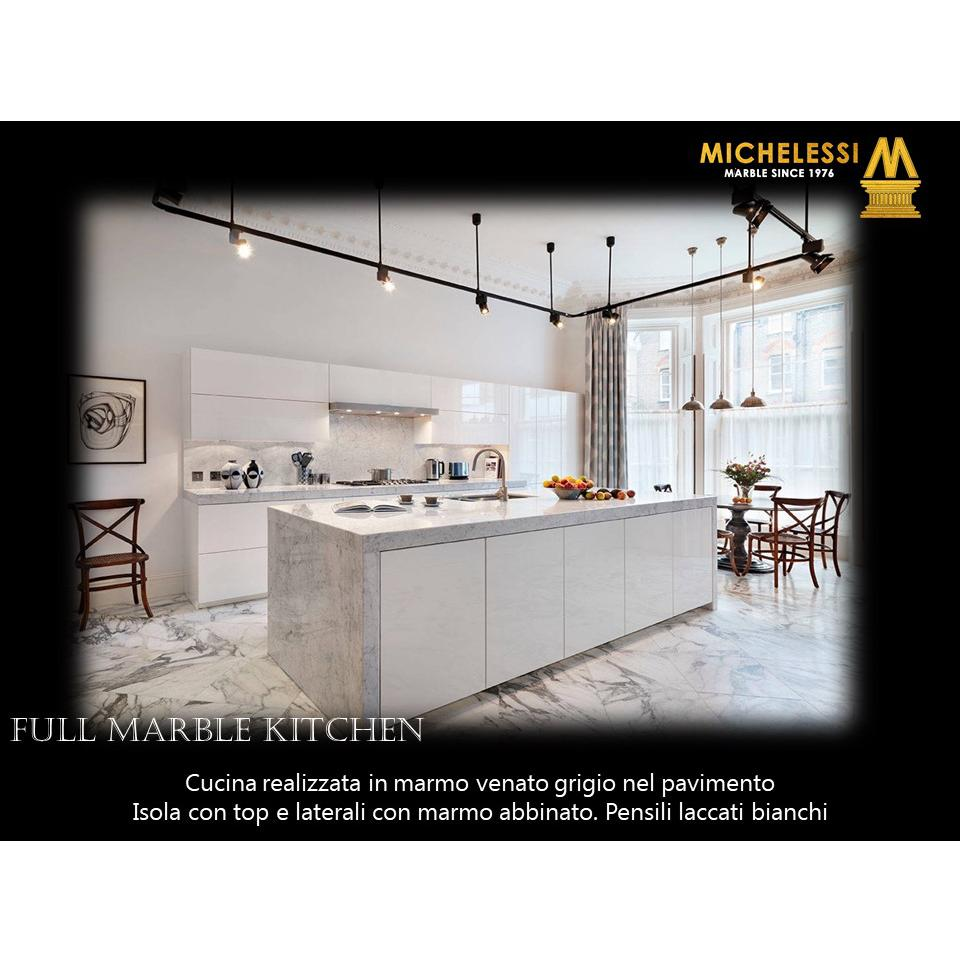 Full Marble Kitchen