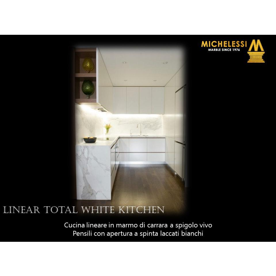 Linear Total white Kitchen