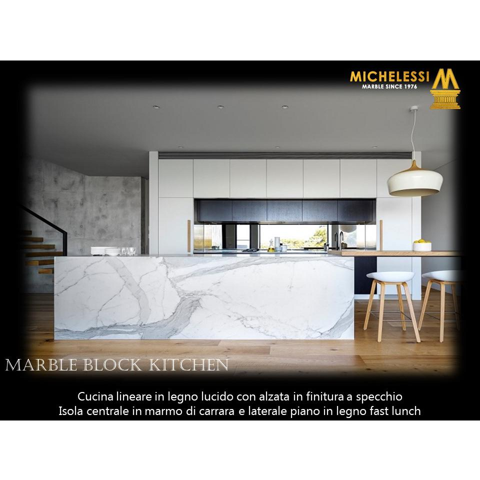 Marble Block Kitchen