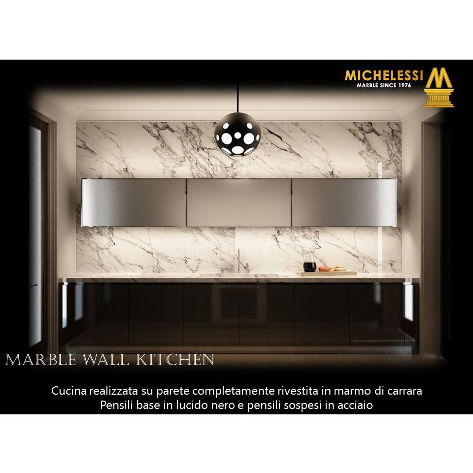 Marble Wall Kitchen