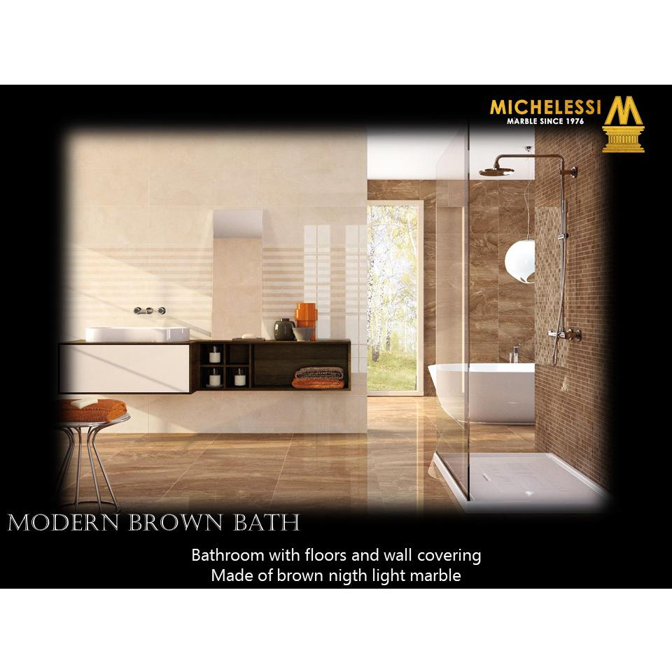 MODERN BROWN BATH
