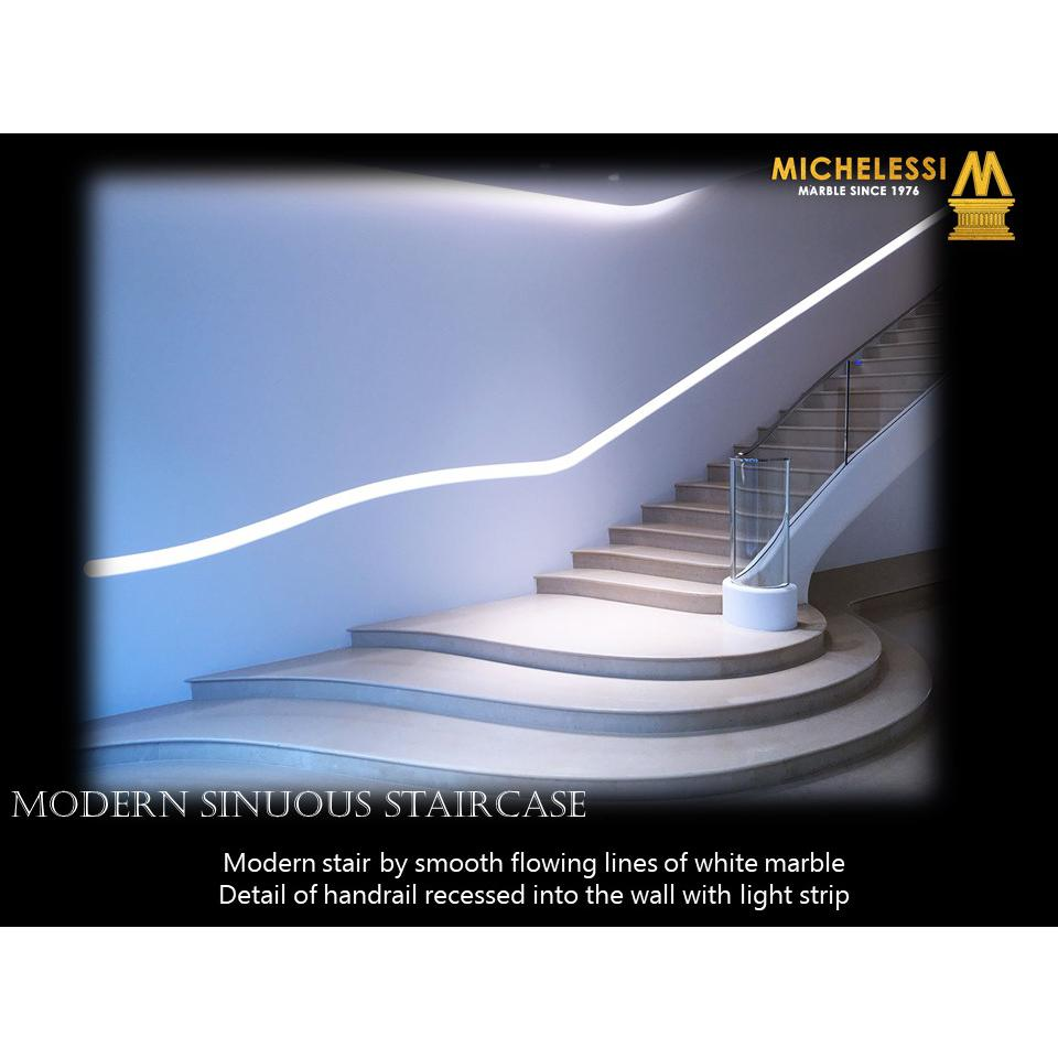 MODERN SINUOUS STAIRCASE