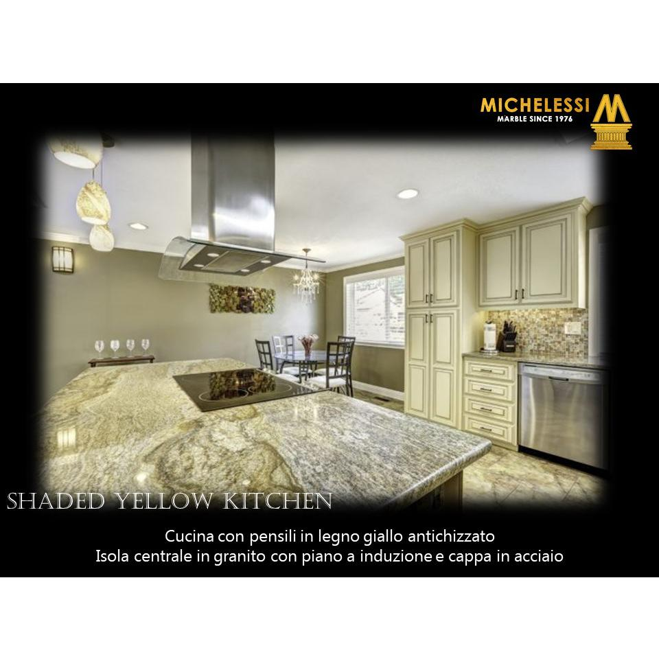Shaded Yellow Kitchen