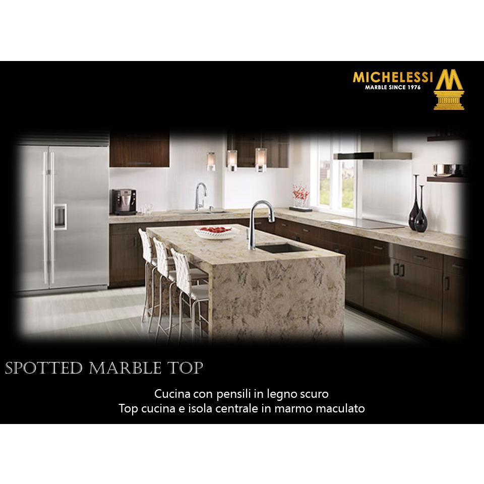 Spotted Marble Top