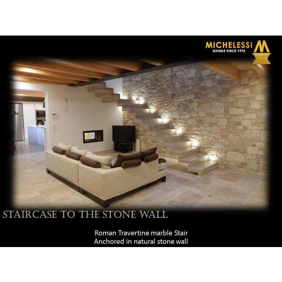 STAIRCASE TO THE STONE WALL