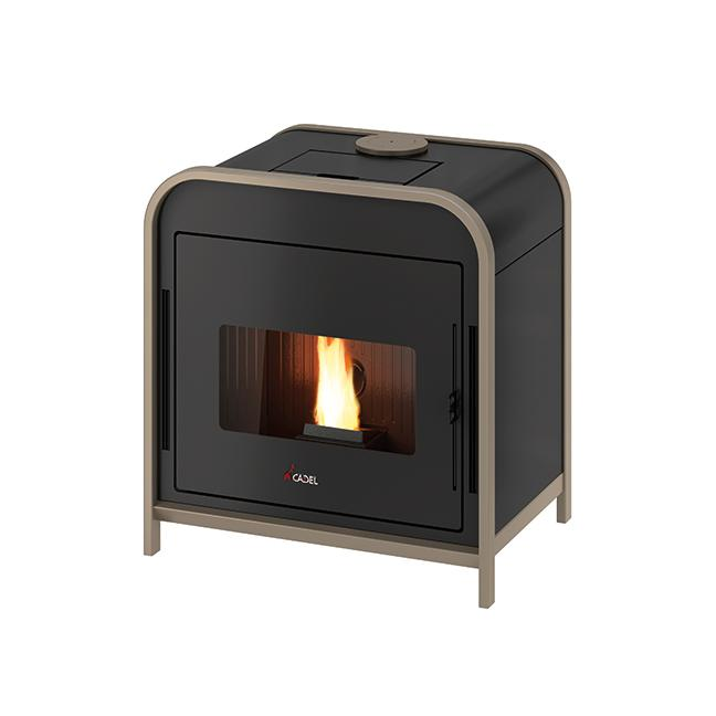 Stufa a pellet Cadel Frame 3 UP 9kw