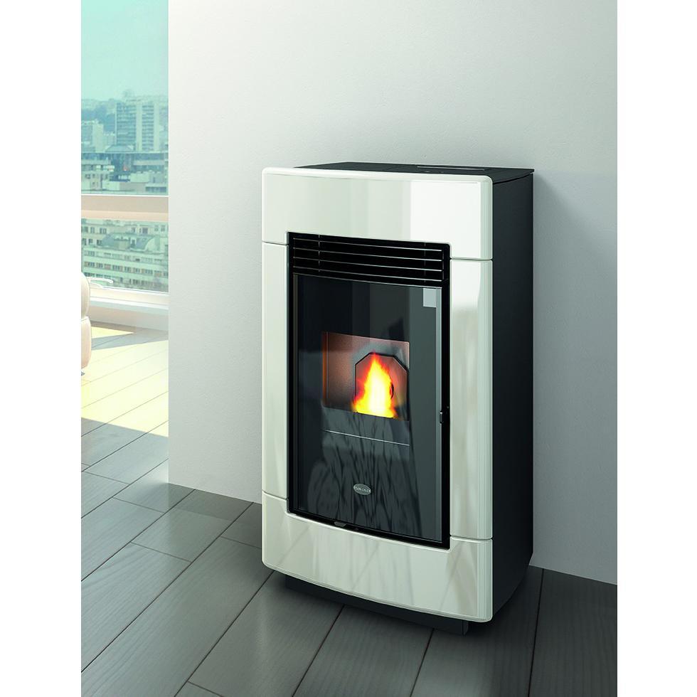 Stufe a pellet termostufe e caldaie a pellet karmek one - Stufe pellet moderne ...