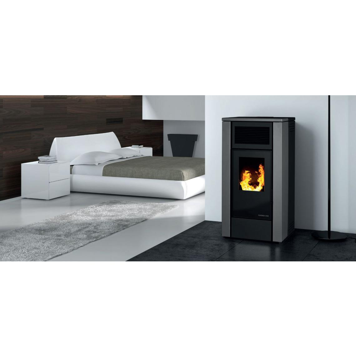Stufa a pellet Karmek One Stoccolma Plus 13 kw
