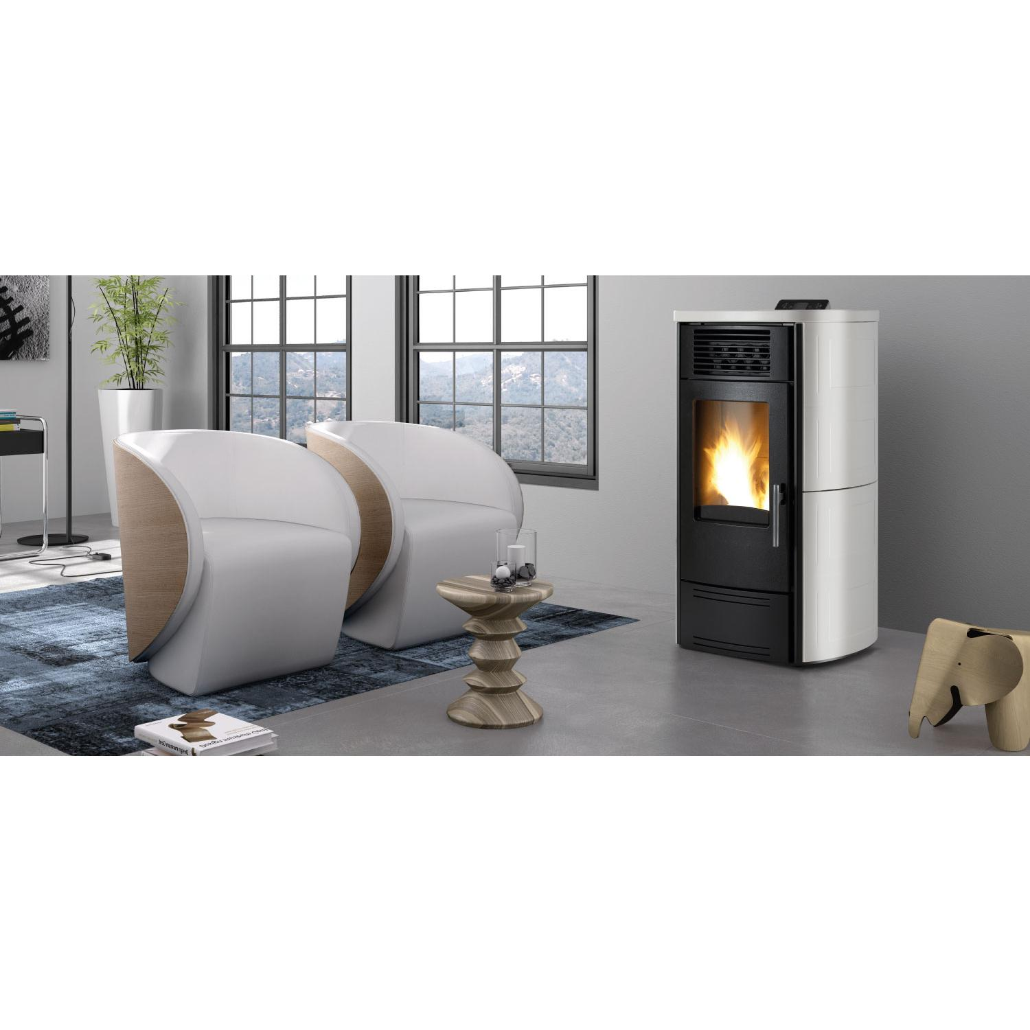 Stufa a pellet Karmek One Valencia plus  11 kw