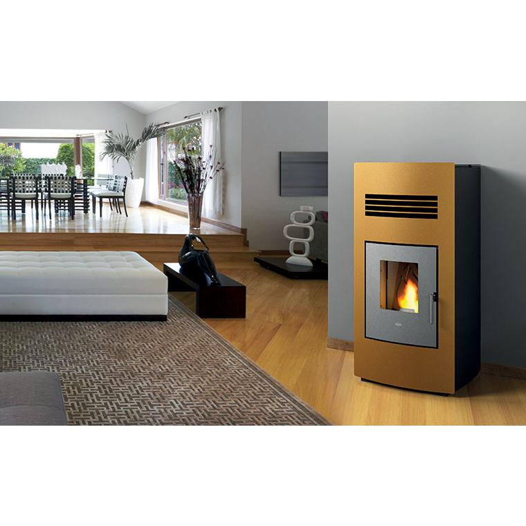 Stufe a pellet: Eva Calor Alice 14,5 Kw